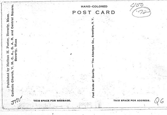 The Dynamics of Beverly Postcards (The Social History of Postcards in ...